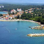 Njivice - ostrov Krk (Chorvatsko)